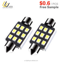 2W LED READING LIGHTS AUTO car for 12V 24V with 9 PCS SMD2835