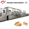 China supplier conveyor belt microwave oats drying machine
