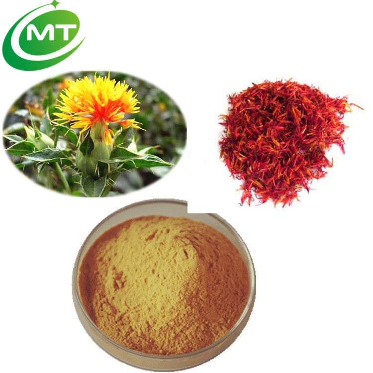 Natural Organic manufacture supply top quality Safflower Extract