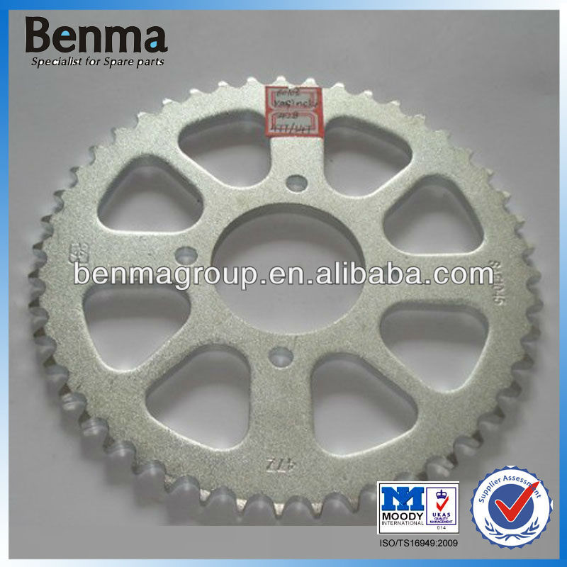 High Quality Sprocket for Motorcycle Transmission Set, Kasinski 47T/14T Sprocket Wheel Wholesale for America Market