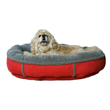 China Red Cheap Colorful Round Dog Bed