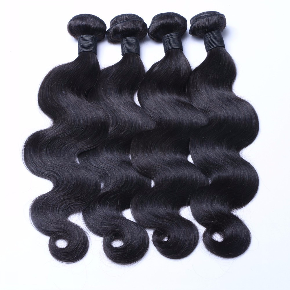 Virgin hair factory egyptian body wave human hair weaving prices in China