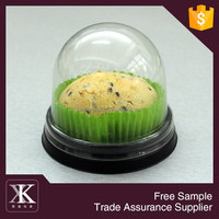 PET plastic cake packaging tray chocolate plastic trays packaging macaron trays packaging