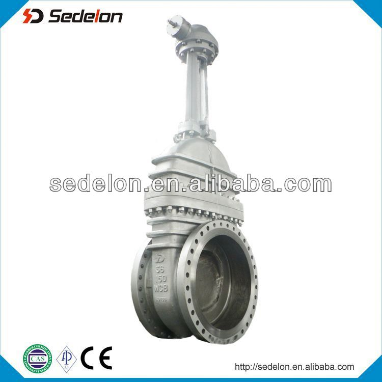 Carbon Steel A216WCB Big Size High Quality Gate Valves