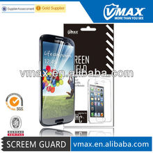 Smartphone screen protective film for Samsung galaxy s4 i9500 oem/odm (High Clear)