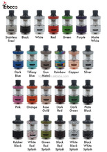 2016-2017 most popular Tobeco authentic mini super tank, 25mm super tank minis, 25colors higher quality super tank minis