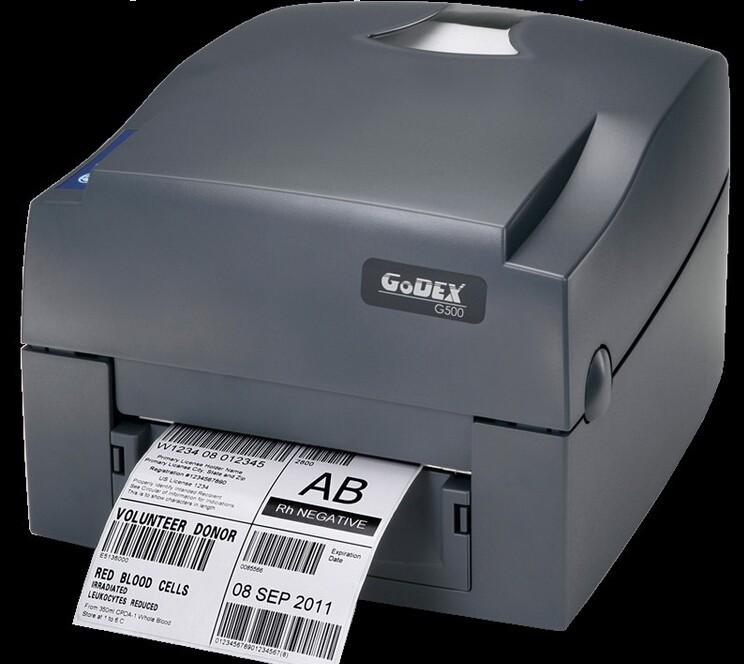 G500 desktop thermal transfer printer zebra barcode printer