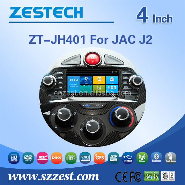 car dvd gps for JAC J2 car dvd gps player with radio TV 3G BT car dvd gps navigation system