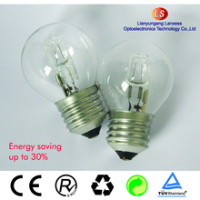 G45 110V 52W E27 halogen Energy saver lamp