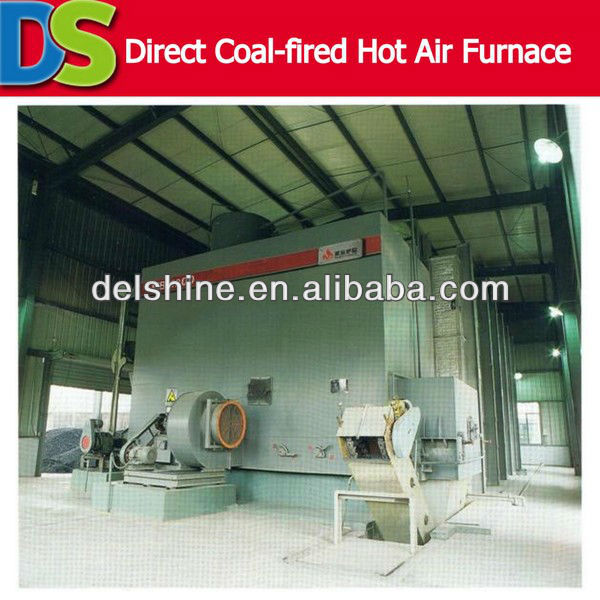 Direct Coal-fired Hot Air Hot Air Wood Furnace