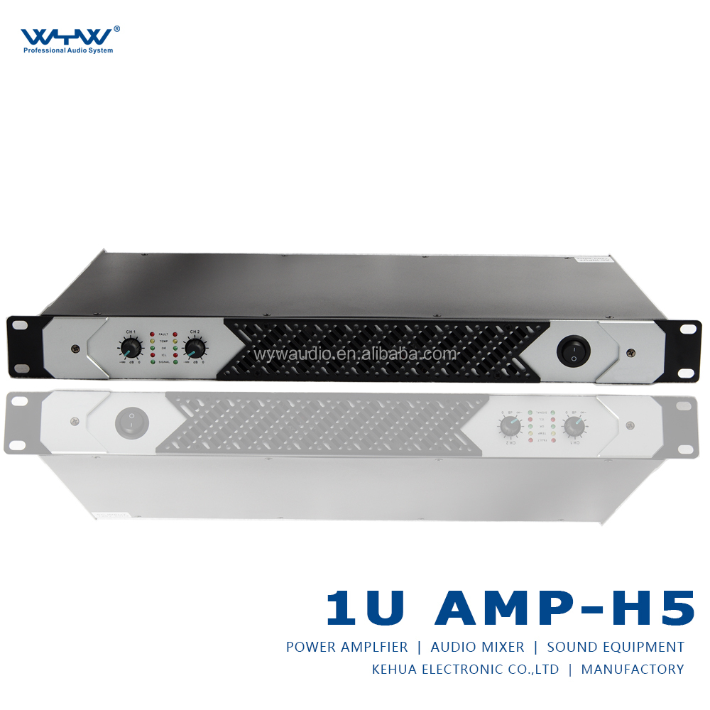 professional 1u power amplifier 500W