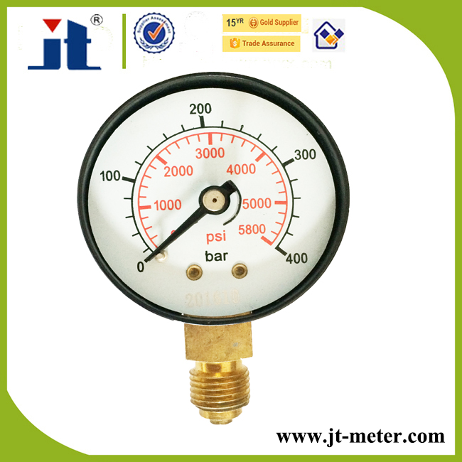 "2.5"" High Pressure Bourdon Tube Pressure Gauge"