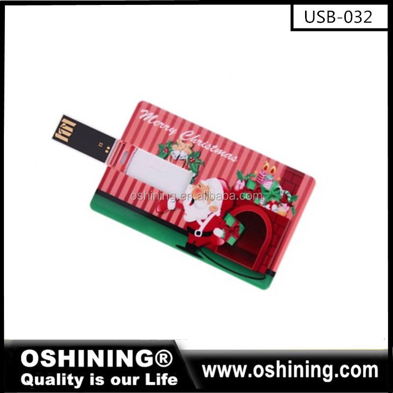 Custom Logo Printing Usb Business Card Flash Drives For ...