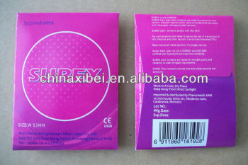 high quality latex condom with CE, ISO