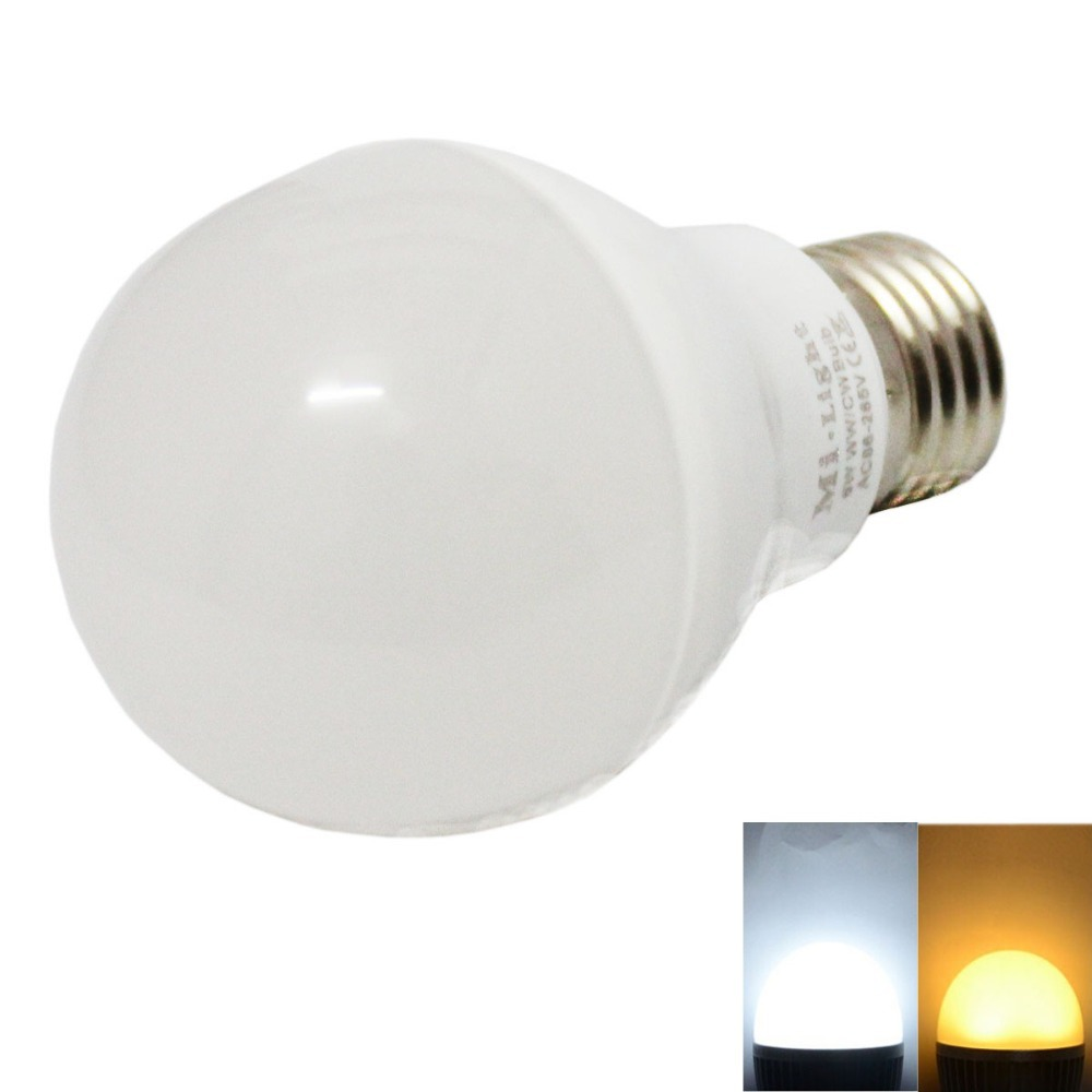 Mi Light LED E27 6W 9W 2.4G 85-265V 110V 220V 2.4G Dimmable SMD 5730 Led Color Temperature Adjustable Bulb  Free shipping