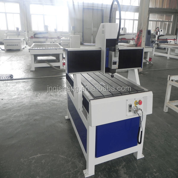 China Jinan 1.5kw 2.2kw spindle wood, metal, stone cnc router 6090 for sale