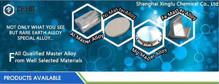 Customized Magnesium Holmium metallurgy material