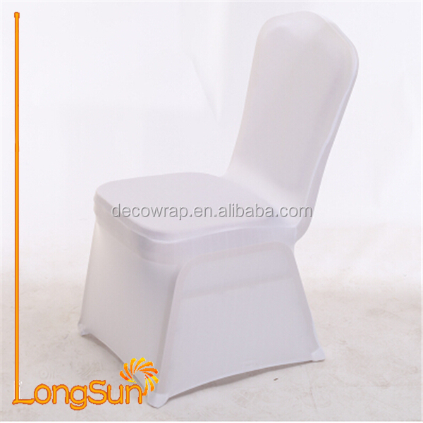 Cheap Chair Cover White Spandex Chair Cover White