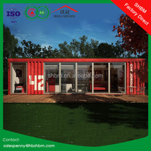 20ft 40ft portable movable duplex luxury prefab steel villa ready made flat pack cheap container villa from china