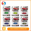 Alibaba china custom color diecast children small metal toy cars