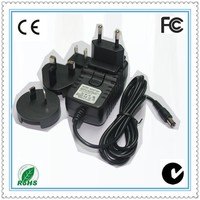manual for universal charger 12v 1amp 12 watts with CE FCC ROHS