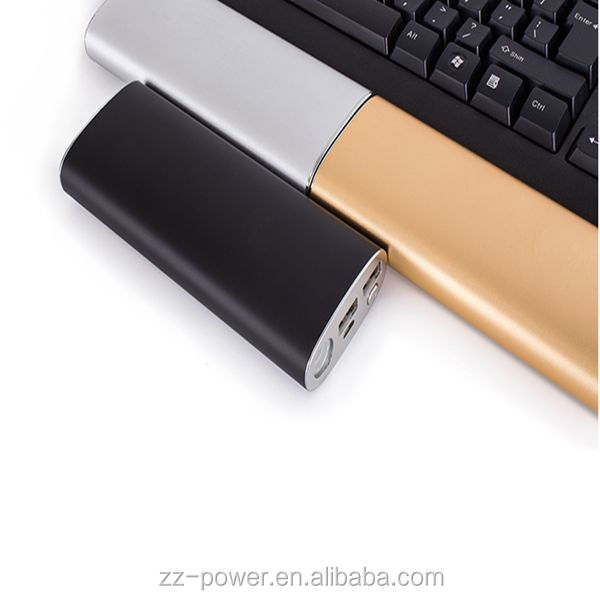 Super Capacity 16000mAh Portable Power Bank with aluminum alloy case, charge for smartphones, tablets