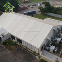 Clear Span Structure System Temporary Storage Building Warehouse Tent