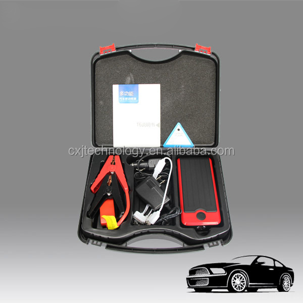 USB jumper cable car accessories emergency starter mini car power bank 12V jump starter booster