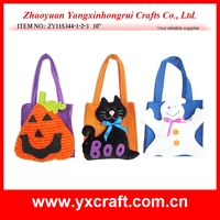 Halloween decoration (ZY11S344-1-2-3 10'' ) halloween gift set, treat or trick decoration bag, halloween gift bag