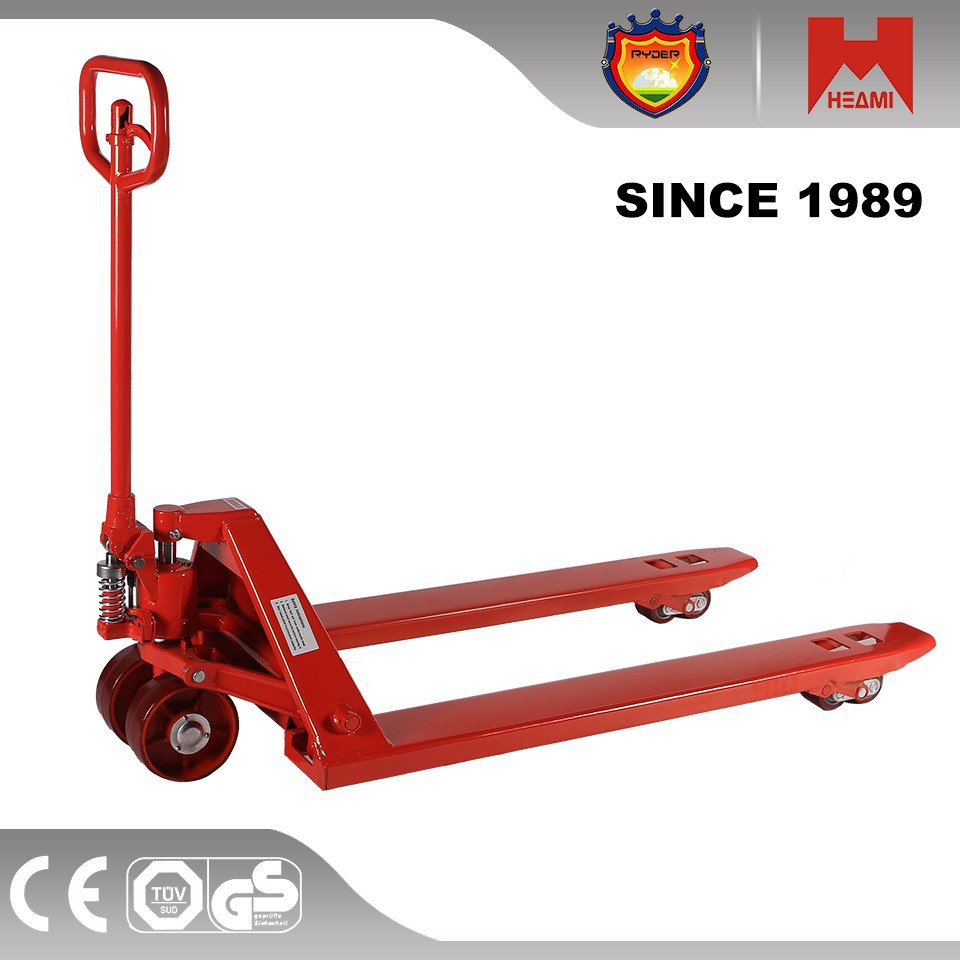 Manual portable hydraulic pallet truck trolley with Europe standard