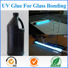 Customized fast clear UV Curing glue for glass/acrylic bonding and sealing