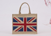 High quanlity Waterproof Shopping Cheap Promotional customised jute bag