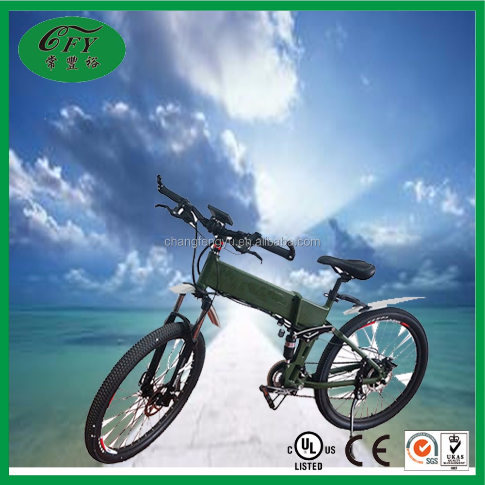 High Quality Lithium Battery Folding Electric Bike Smart China Electric Bicycle Mountain Bike for Fitness Sports Casual
