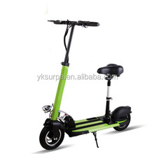 10 inch 350w500w 800w lithium battery single person electric transport vehicle/mini folding electric scooter/kick bike