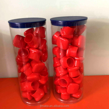 Wholesale Acrylic Tube Gift Cylinder Packaging Clear Plastic Tube