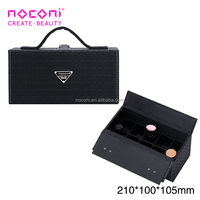 New Design soft portable nail polish case Organizer personalized Makeup carrying case