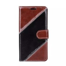 Cross grain Leather Case For Samsung S6 Edge, For Samsung S6 Edge Wallet Stand Case