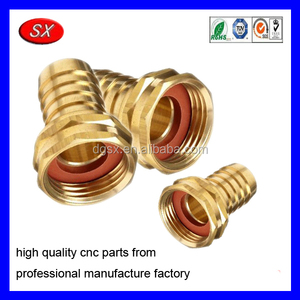 "customized 3 /4"" Brass Stainless Steel Female Garden Hose Fitting"