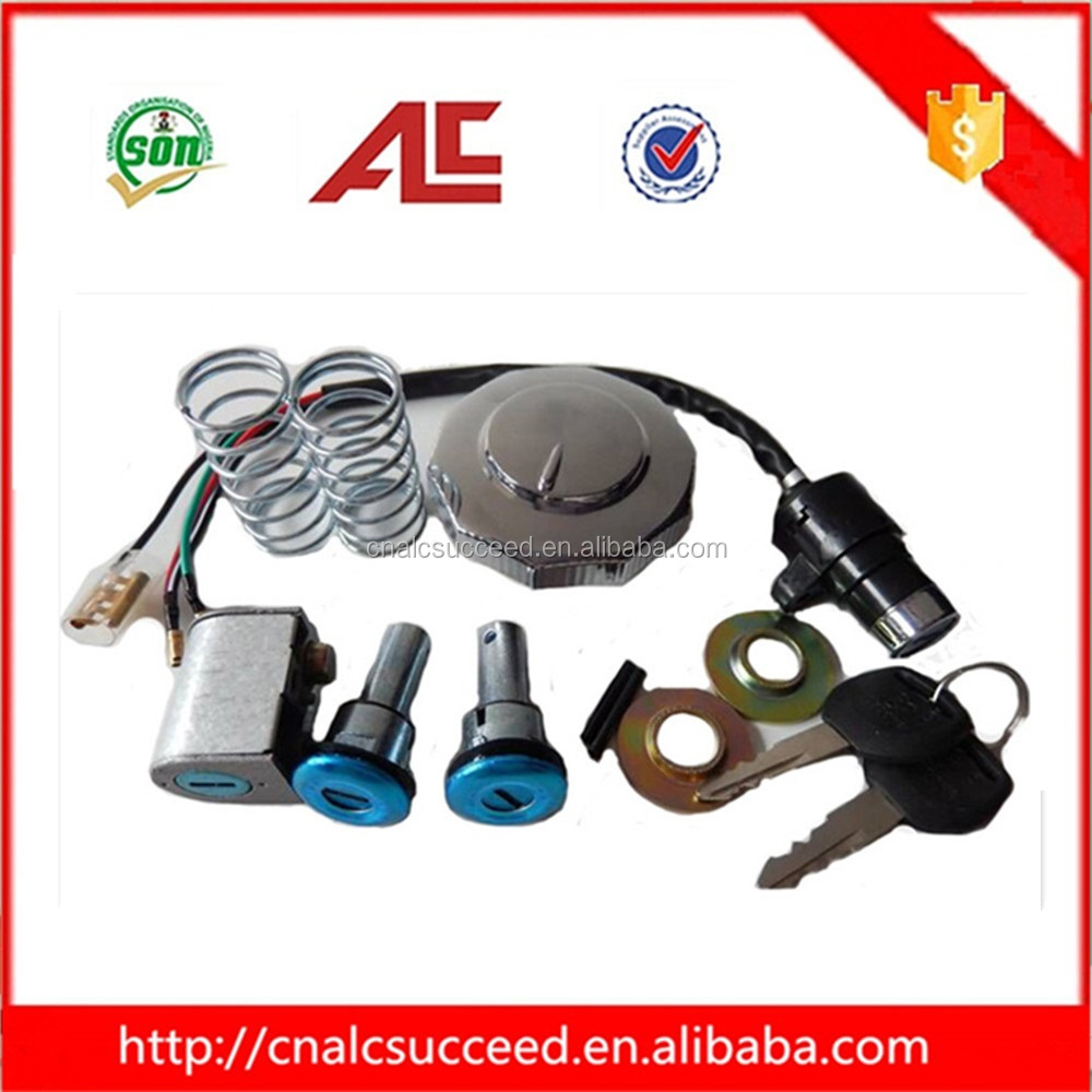Factory price CD70 motorcycle lock set