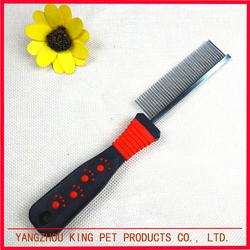 Popular products new fashion pet brush grooming dog clean comb