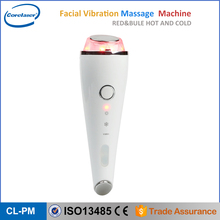 Microcurrent handheld facial massager led light therapy ultrasonic beauty machine