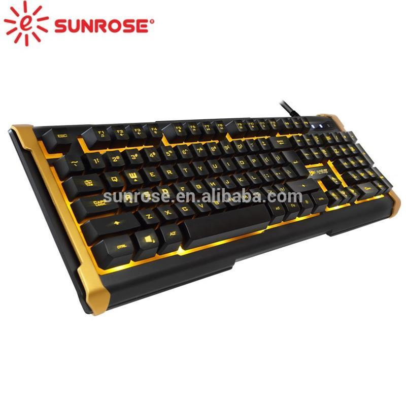New design wireless backlit keyboard mouse combo with high quality
