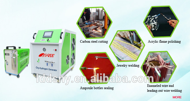 230V/110V portable oxyhydrogen gas water electrolysis oxygen hydrogen generator from water