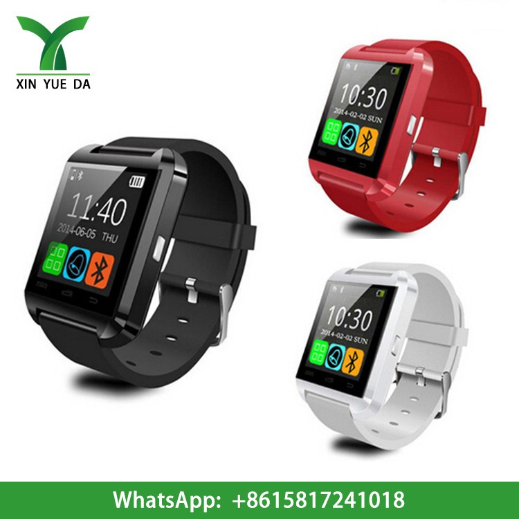 2016 china smart watches U8 bluetooth watch factory price wholesale cheap