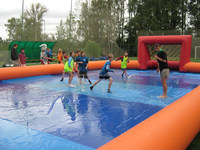 inflatable football pitch / inflatable water football field