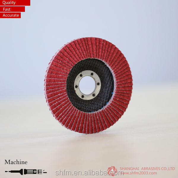 "5"" VSM Ceramic Abrasive Flap Disc"