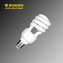 3000hrs compact fluorescent energy saving lamp 12w 18w 25w 1.2m T4 half spiral E27 B22 120V 110V cfl saver light