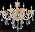 Crystal chandelier with various lights