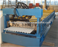 Good quality and best price! colored steel roll forming machine/ Glazed roof tile making machine