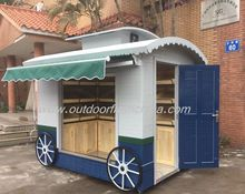 Hot selling mobile fruit carts